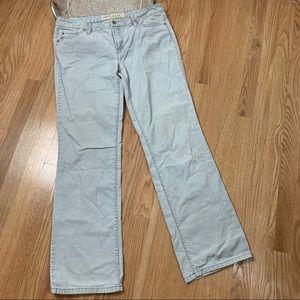 Ann Taylor Loft Corduroy Slim Boot Pants 9